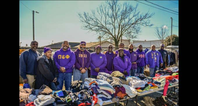 W-S fraternity graduate chapter gives back