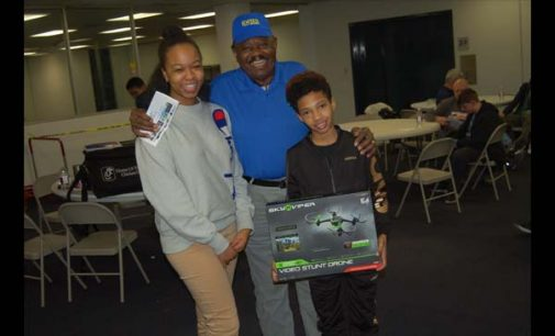 Young wins drone at aviation camp