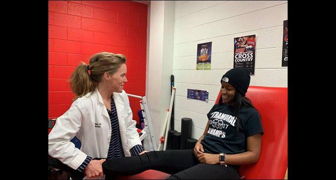 Wake Health  and WSSU collaborate to provide team sports medicine