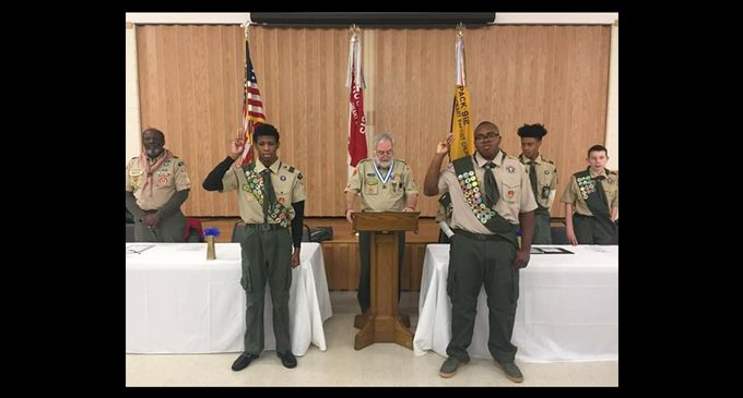 Two Boy Scouts awarded Eagle Scout  designation