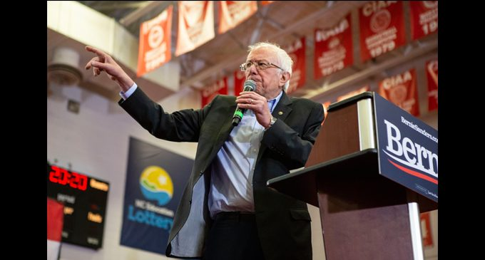 Sanders rallies voters at WSSU