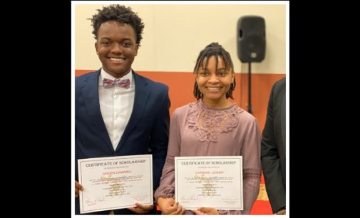 Prince Hall Shriners of Sethos Temple No. 170 awards scholarships to local seniors