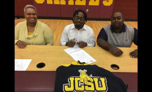 Atkins senior receives golf  scholarship to Johnson C. Smith