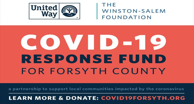 COVID-19 Response Fund for Forsyth County awards second round of grants