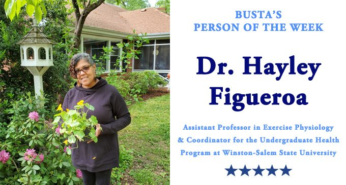 Busta's Person of the Week: Dr. Hayley Figueroa: 'If you're always ready, you never have to get ready.'