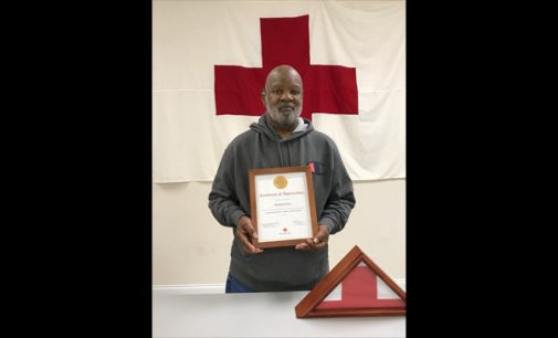 Clarence Clark retires from American Red Cross after 38 years of service