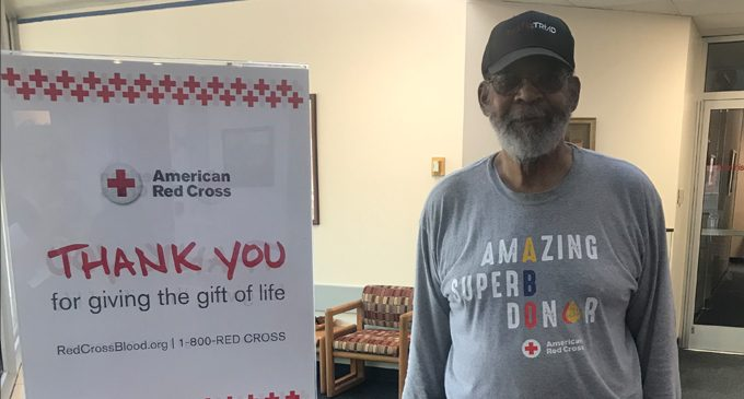 Local 82-year-old to donate 200th pint of blood on Friday