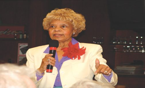 Longtime City Council member and public servant Vivian Burke died late Tuesday evening