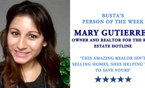Busta's Person of the Week: This amazing realtor isn't selling homes, she's helping you to save yours