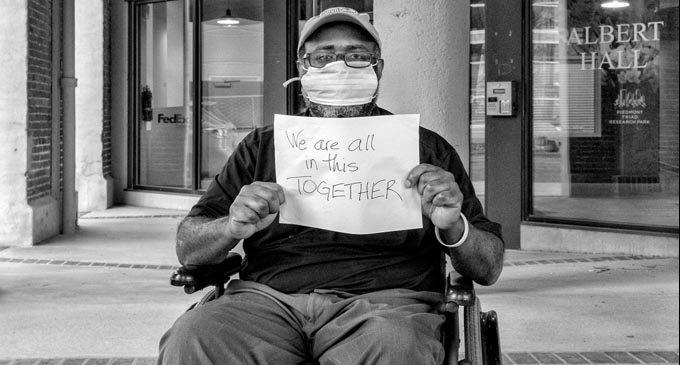 #OneCityOneLove focuses on Dear Winston messages captured by photographer Owens Daniels