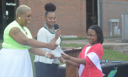B.L.U.E.- G.R.E.E.N. Academy holds drive-in graduation for fifth graders