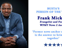 Busta's Person of the Week: Former news anchor says Jesus is the answer to bringing us together