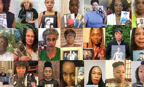 Mothers call for action to save black sons' lives in new video