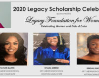 The Legacy Foundation for Women awards scholarships