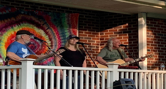 Local band gives 'porch  concerts' for neighbors