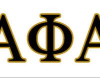 Alpha Pi Lambda Chapter, Alpha Phi Alpha Fraternity, Inc., awards scholarships to high school seniors