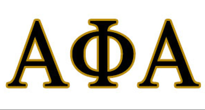 Alpha Pi Lambda Chapter, Alpha Phi Alpha Fraternity, Inc., awards scholarships to high school seniors