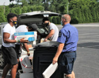 Local company celebrates  anniversary by giving back