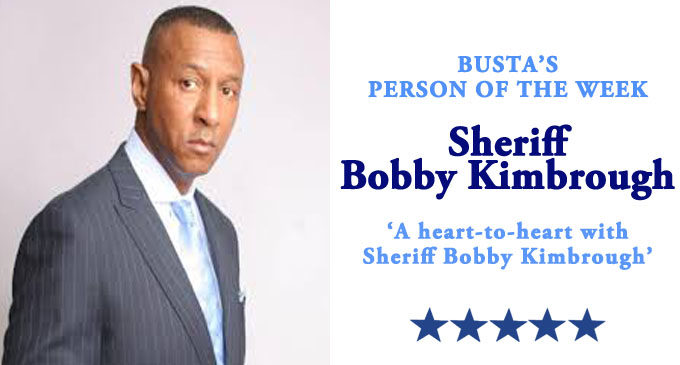 Busta's Person of the Week: A heart-to-heart conversation with Sheriff Bobby Kimbrough