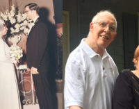 Shepherd's Center program discovers a surprising connection to a 50th wedding anniversary