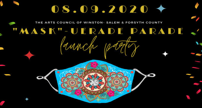 """Arts Council to host virtual birthday party to launch """"MASK""""-UERADE PARADE on Aug. 9"""