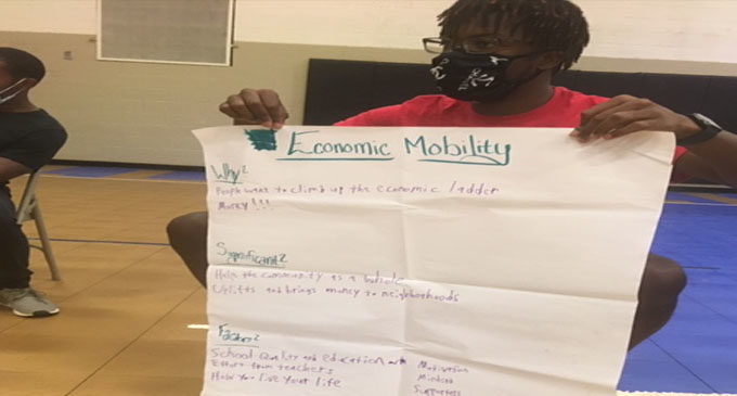 Program helps East Winston students confront problems aggravated by pandemic