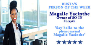 Busta's person of the Week: Say hello to the phenomenal Magalie Yacinthe