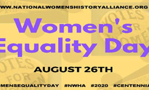 Guest Editorial: Women's Equality Day
