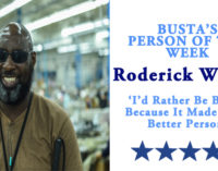 Busta's Person of the Week: 'I'd rather be blind, because it made me a better person'