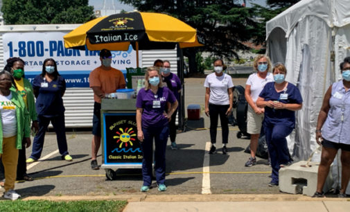 Sorority spends the month of July serving the community