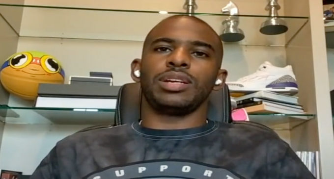Chris Paul joins First Take for interview