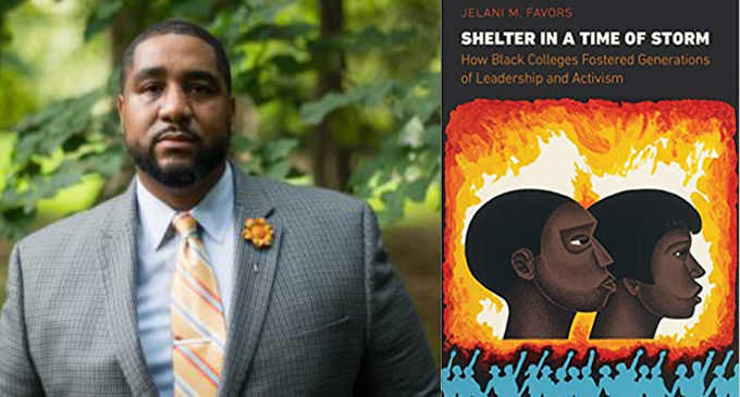 Winston-Salem native Jelani Favors receives high praise for his book 'Shelter in a Time of Storm'