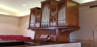 Friedberg Moravian's organ getting upgrade