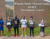 Winston-Salem Chapter NAACP presents scholarship awards