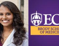 Winston-Salem native receives ECU's most prestigious scholarship