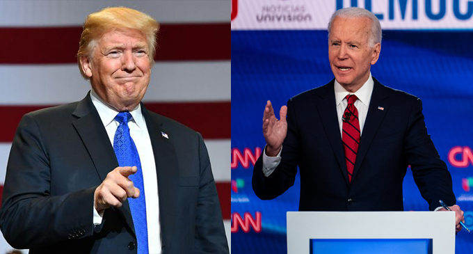 Commentary: Standing up to Trump … and Biden