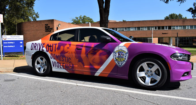 Forsyth County bringing  attention to domestic violence during the month of October