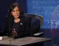 Commentary: Kamala Harris made Pence suffer mightily on the debate stage