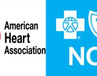 American Heart Association and Blue Cross NC providing community health mini-grant funding