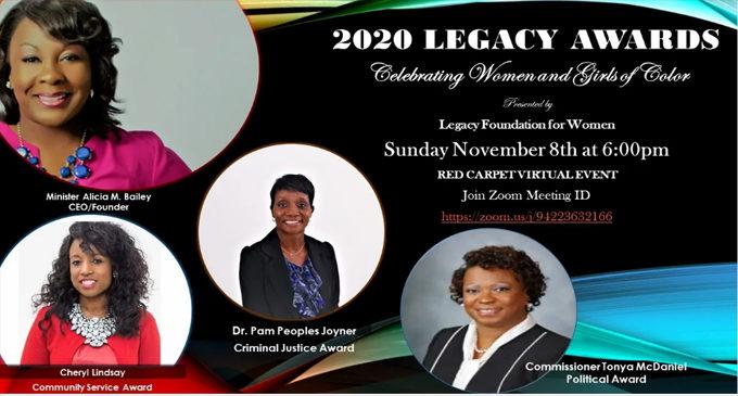 2020 Legacy Awards going virtual