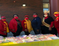 Local sorority joins with Salvation Army Boys and Girls Club for book giveaway