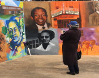 Mural honors the history of  Depot Street