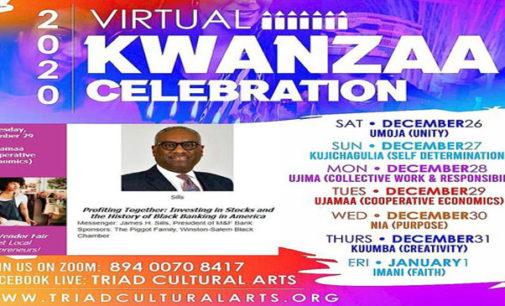 Kwanzaa celebration goes virtual