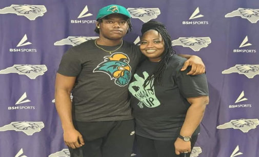 East Forsyth's Lyles signs to play for Chanticleers
