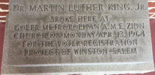 A day with the King: A look back at  Dr. King's visit to Winston-Salem