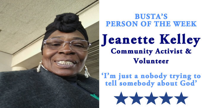 Busta's Person of the Week: 'I'm just a nobody trying to tell somebody about God.'