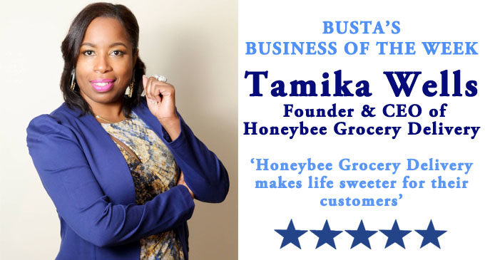 Busta's Business of the Week: Honeybee Grocery Delivery makes life sweeter for  their customers