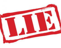 Commentary: The biggest lie