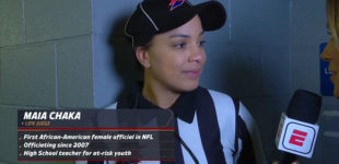 NFL hires first Black woman referee