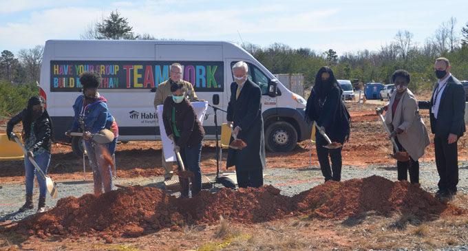 Habitat breaks ground on new development in Northeast Winston